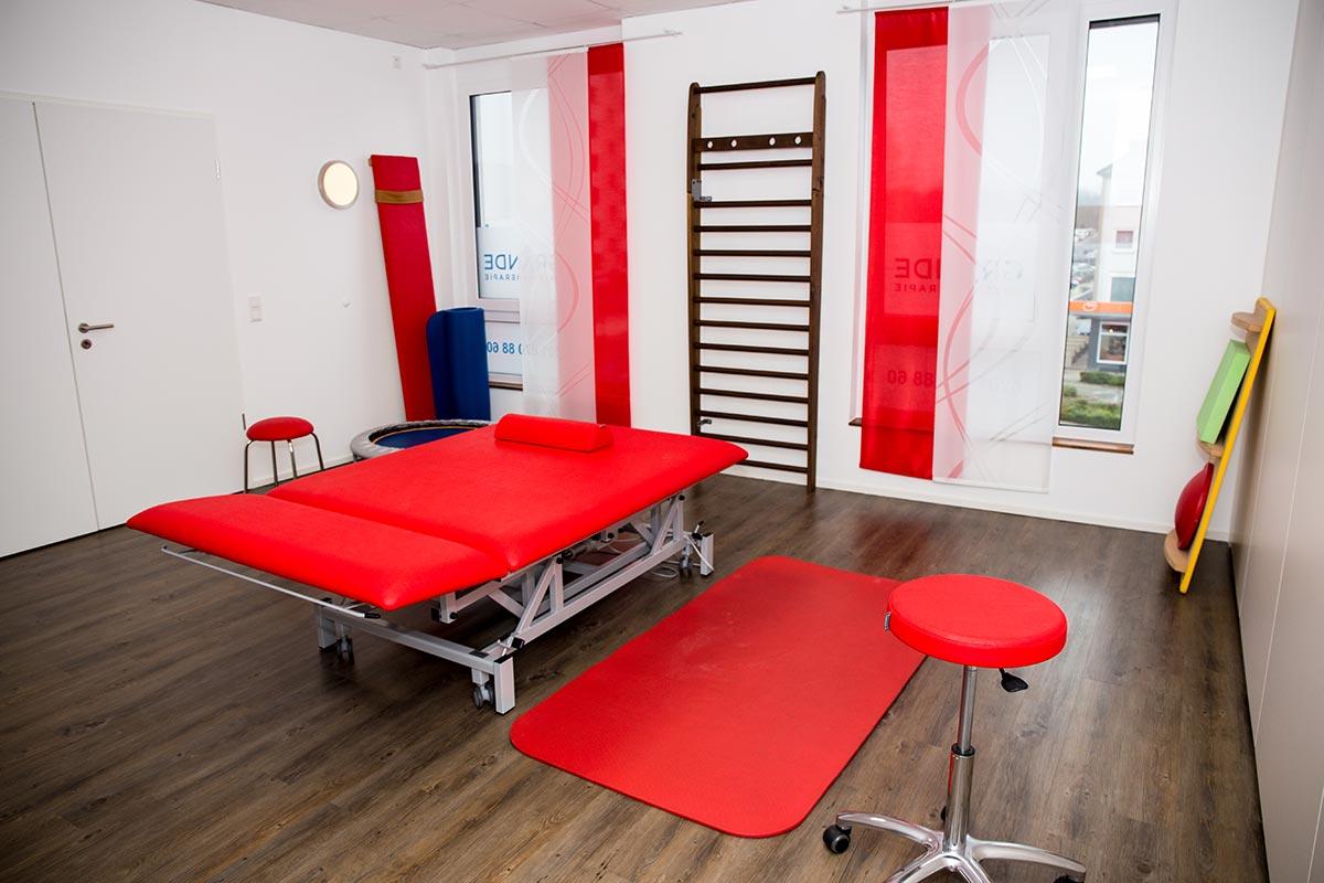 Physiotherapie Grande Behandlungsraum 2