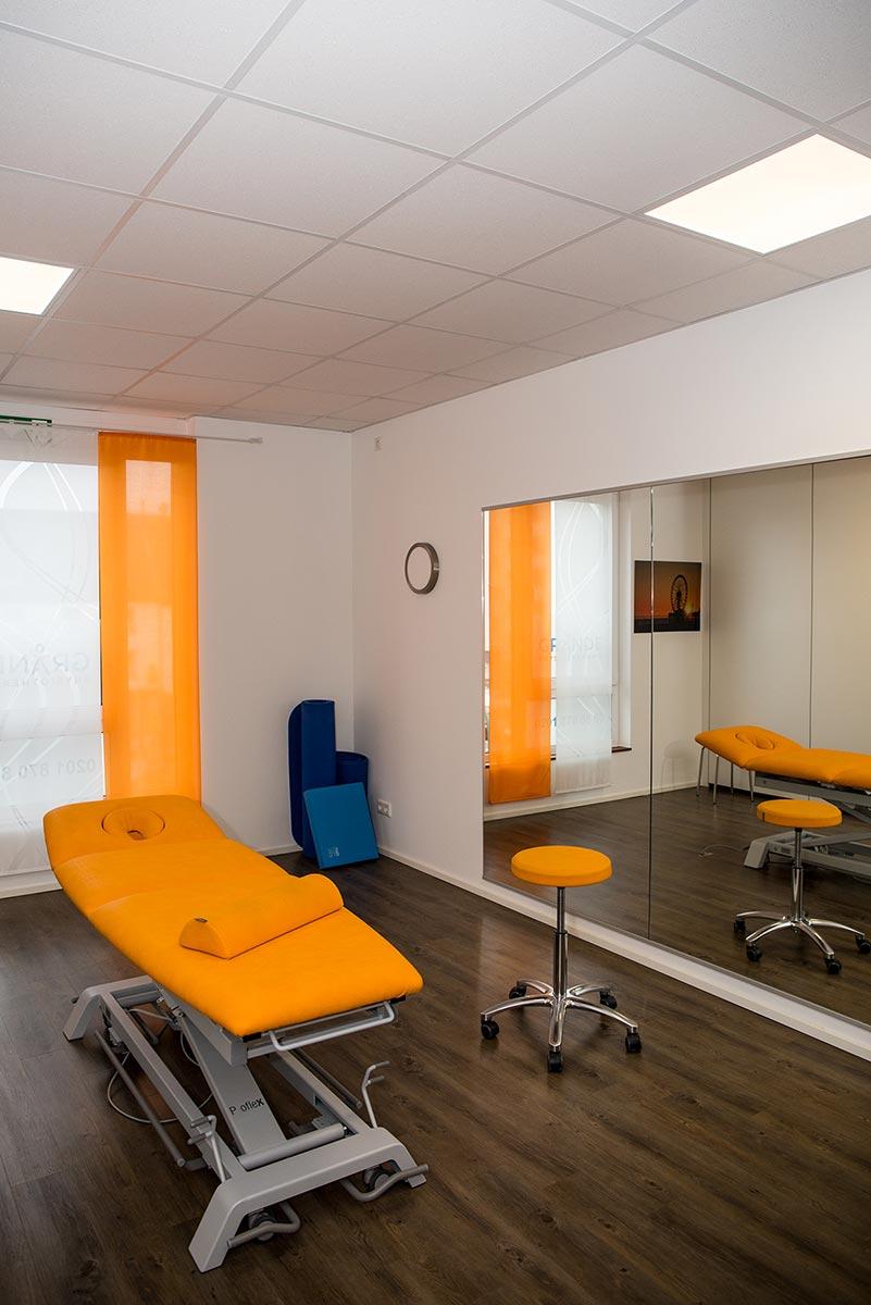 Physiotherapie Grande Behandlungsraum 1