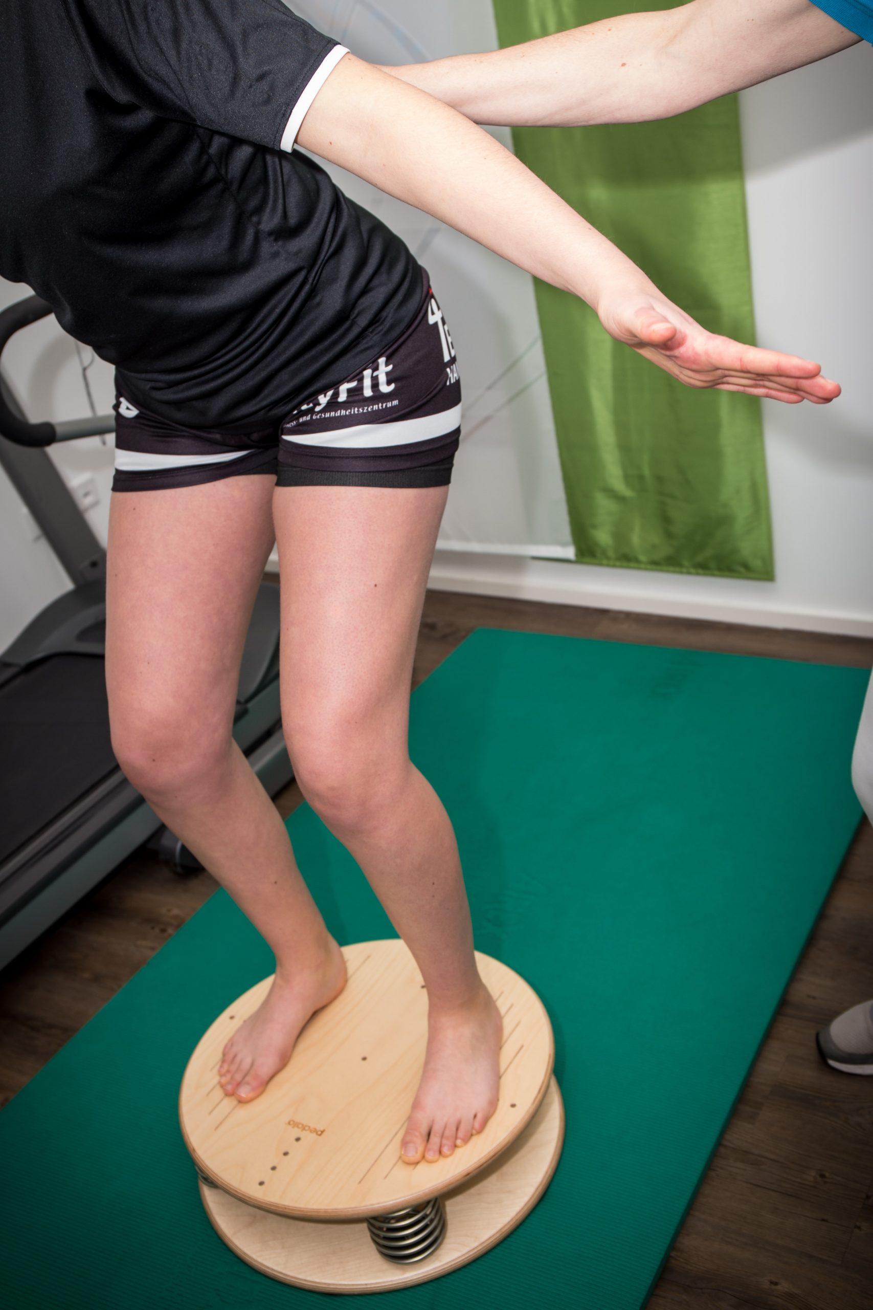 Allgemeine Krankengymnastik - Gleichgewichtstraining