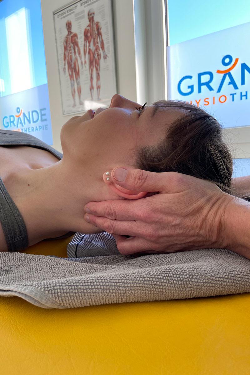 CMD-Therapie bei Physiotherapie Grande